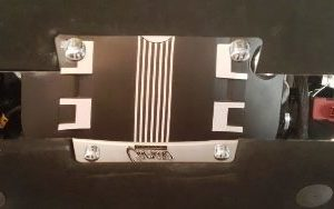 2010 – 2015 5th Gen Camaro V6 & V8 Engine Hood Liner Bowtie