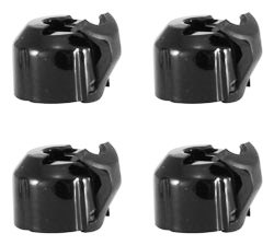 2010 – 2015 5th Gen V6 & V8 Camaro ABS Brake Distribution Block Caps Glossy Black