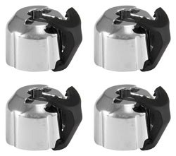 2010 – 2015 5th Gen V6 & V8 Camaro ABS Brake Distribution Block Caps Chrome