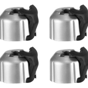 2010 – 2015 5th Gen V6 & V8 Camaro ABS Brake Distribution Block Caps Silver