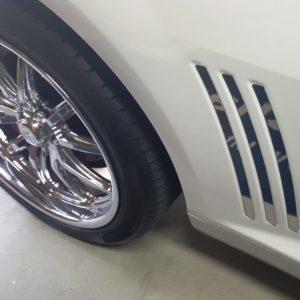 2010-2015 5th Gen Camaro V6 & V8 Rear Side Gills