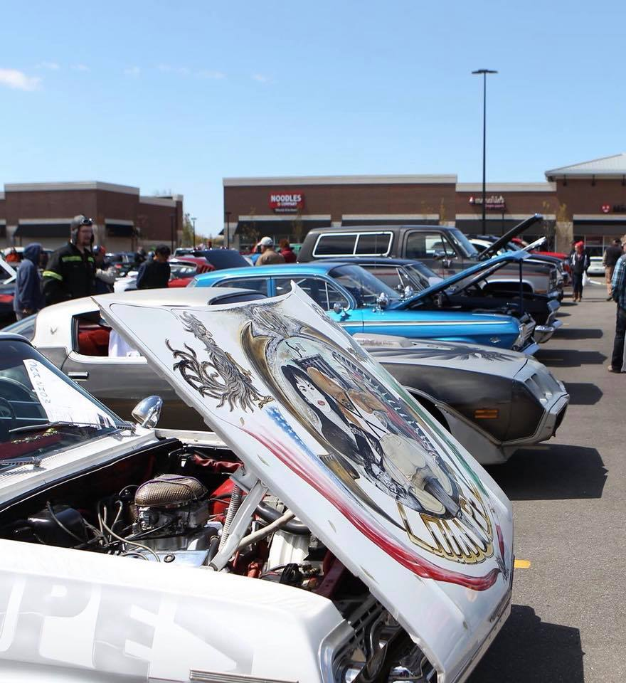 Fiesta Car Show Camaros Of Michigan - Custom car show