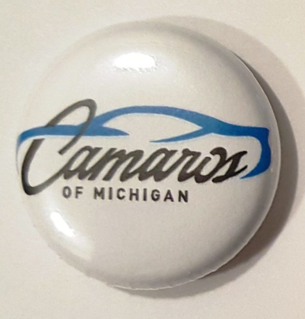 Camaros of Michigan Official Button Pins