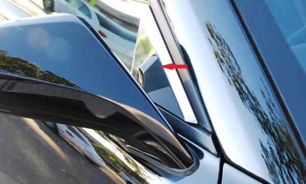 2010 – 2015 5Th Gen Camaro V6 & V8 Mirror Pillar Trim Covers