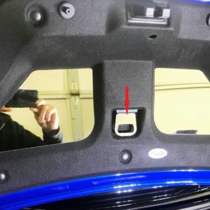 2016 – 2019 6th Gen Camaro Trunk Pull Cover