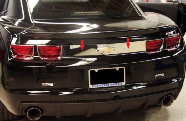2010 – 2013 5th Gen Camaro V6 & V8 Trunk Trim Cover