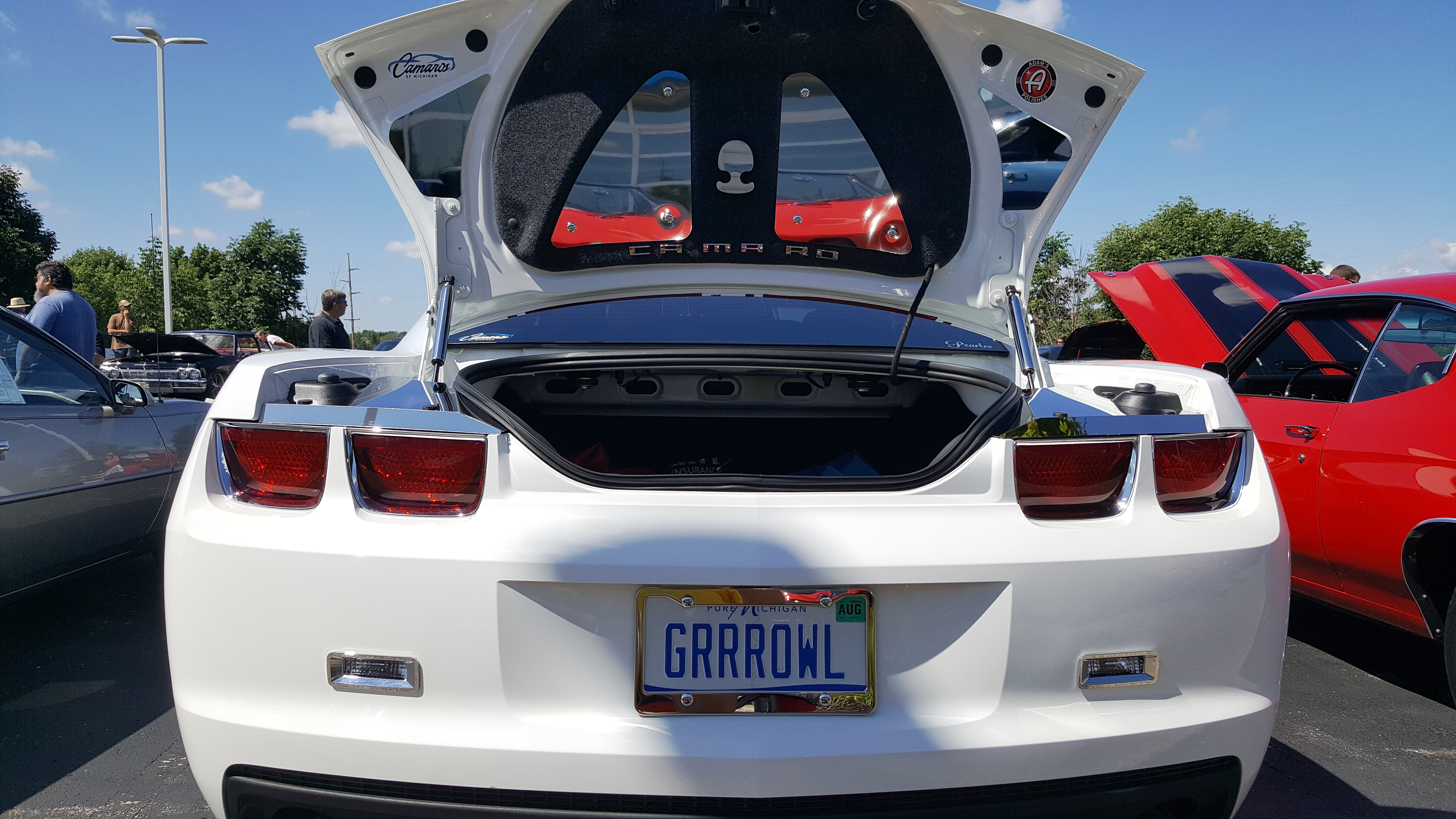 5th Gen Trunk Compartment Power Coated Mirrored Products Archives Camaros Of Michigan