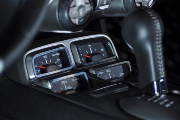 2010 – 2015 5th Gen Camaro V6 & V8 Interior Gauge Pack Trim 4-Piece Cover