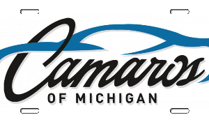 Camaro's of Michigan Official License Plate