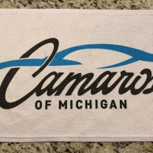 Camaros of Michigan Official Detail Cleaning Towel