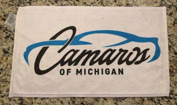 Camaros of Michigan Official Cleaning Towel
