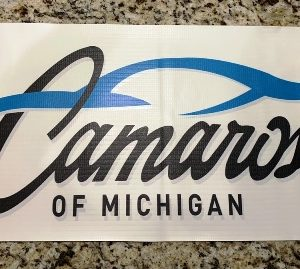 Camaros of Michigan Logo Banner